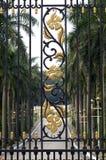 Malaysian Palace Gate. Deocoration on Malaysian palace gate, Kuala Lumpur royalty free stock image