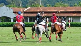 Malaysian Polo Tournament ouvert 2015 Photo stock