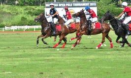 Malaysian Polo Tournament ouvert 2015 Photo libre de droits