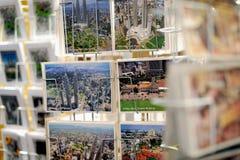 Malaysian postcards Stock Photos