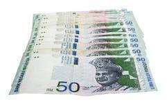 Malaysian ringgit Royalty Free Stock Image