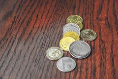 Malaysian ringgit coins Royalty Free Stock Image