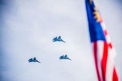 Malaysian Royal Army 80th Anniversary Royalty Free Stock Photo