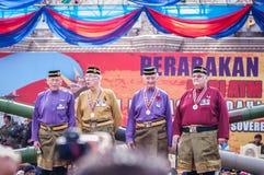 Malaysian Royal Army 80th Anniversary Royalty Free Stock Photo