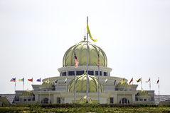 Malaysian royal palace Royalty Free Stock Images