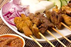 Malaysian Satay Stock Images