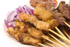 Malaysian Satay stock image