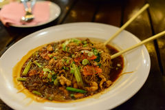 Malaysian style noodles Stock Images