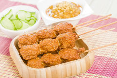 Malaysian Style Snacks Royalty Free Stock Photo