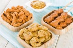 Malaysian Style Snacks Stock Image