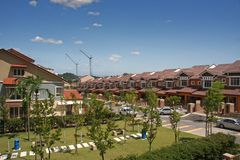 Malaysian suburbs Stock Image