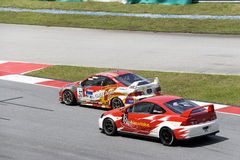 Malaysian Super Series Car Race Action Stock Photos