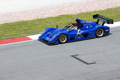 Malaysian Super Series Car Race Action Royalty Free Stock Images