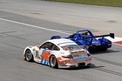 Malaysian Super Series Car Race Action Stock Photo
