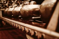 Malaysian traditional music instrument called Gamelan stock images