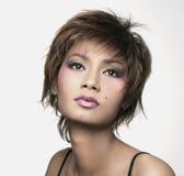 malaysianmodell Royaltyfri Fotografi