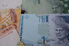 Malaysische Rupienbanknote Stockfotos