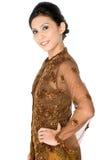 Malaysische traditionelle Ausstattung Stockfotos