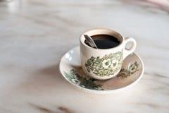 Malaysischer Frühstück-Kaffee Stockbild