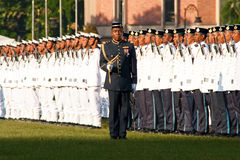 Malaysischer König Birthday Parade Celebrations 2011 Stockfotos