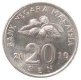 Malaysischer Senator coin Stockfotos