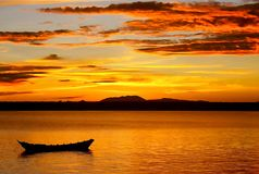 Malaysischer Sonnenaufgang Stockfotos