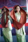 Malaysischer traditioneller Tanz Lizenzfreies Stockbild