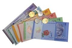 Malaysisches Ringgit Stockfoto