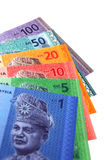 Malaysisches Ringgit lizenzfreie stockfotos