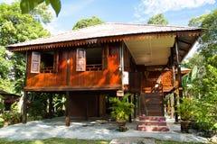 Malaysisches traditionelles Haus lizenzfreies stockbild