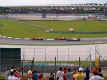 Malaysisk grand prix på Sepang F1 Arkivbilder