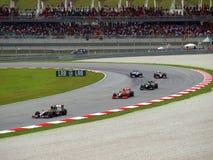 Malaysisk grand prix på Sepang F1 Arkivfoto