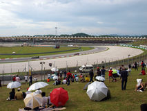 Malaysisk grand prix på Sepang F1 Royaltyfri Bild