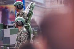 Malaysisk kunglig årsdag för armé 80th Royaltyfri Bild