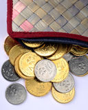 Malaysisk valuta Arkivfoton