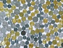Malaysiska mynt royaltyfria bilder