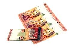 Malaysiska pengar Arkivbilder