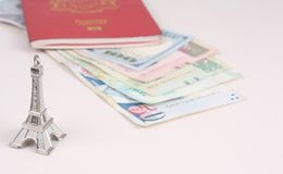 Malaysiskt pass Royaltyfria Foton