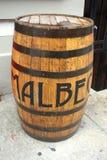 Malbec Barrel Stock Photo