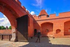 Malbork stock foto