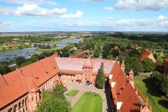 Malbork Fotografia de Stock