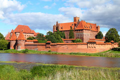 Malbork castle Royalty Free Stock Images