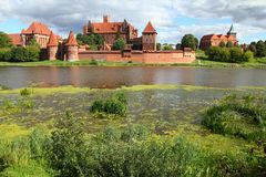 Malbork castle Royalty Free Stock Photos
