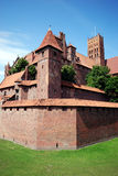 Malbork Castle Royalty Free Stock Photo
