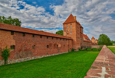 Malbork Castle Of Northern Poland Royalty Free Stock Image