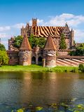 Malbork castle Stock Images