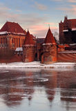 Malbork castle in Poland Stock Photo