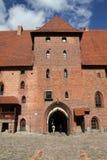Malbork castle, Poland Royalty Free Stock Photography