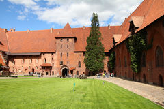 Malbork castle, Poland Royalty Free Stock Photography