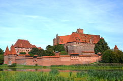 Malbork castle, Poland Royalty Free Stock Photo